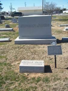 Jones grave