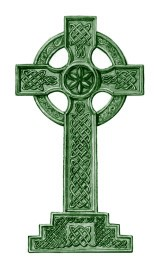 This image has an empty alt attribute; its file name is celtic-cross.jpg